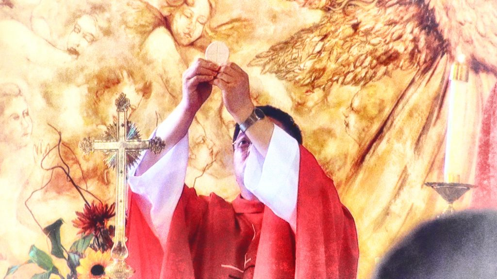 Holy Consecration at Mass
