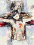 Jesus Crucified with the Father close to Him